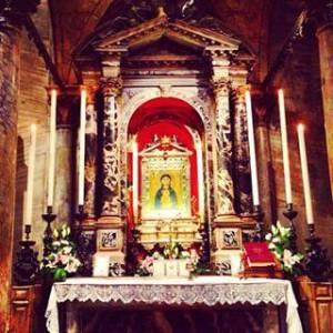 l'altare di Sant'Isidoro, ove è collocata