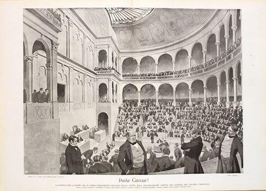 Non e cambiato nulla il parlamento italiano nel 1861 for Parlamento italiano storia