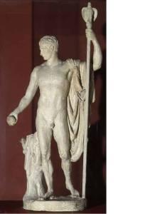 .La statua di Napoleone come Marte pacificatore, del Canova, terminata nell'agosto 1806, non ottenne i favori dell'imperatore, poiché egli avrebbe desiderato essere ritratto vestito, che decise quindi di non esporre la statua al pubblico. aveva chiaramente il complesso del minipisello