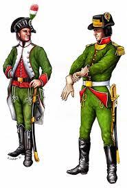 le uniformi dei massacratori, verdi, bianche e rosse.