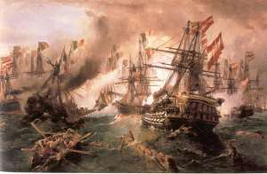 Constantine_Volanakis_Naval_battle_at_Lissa