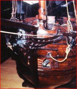 Modello originale di galeazza veneziana