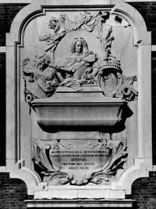 Giovanni Morlaiter, Monumento funebre di Johann Matthias Von Schulemburg, Arsenale di Venezia, 1747