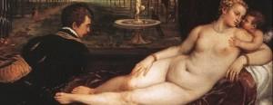 Tiziano, cortigiana