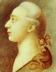Casanova ritratto dla fratello Francesco, che raggiunse il successo a Parigi come pittore specialista in scene di battaglie.