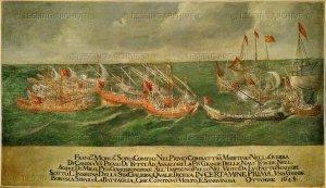 in certamine prima, motto della nave del Morosini