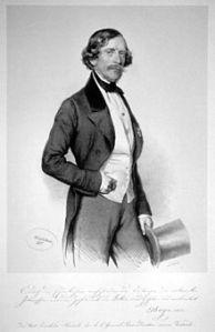 l'ingegnere in una litografia del 1851