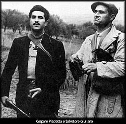 Salvatore Giuliano e Gaspare Pisciotta