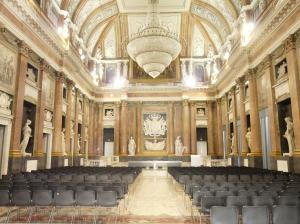 sala del Maggior Consiglio di Genova.