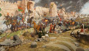 29556826-Assalto-finale-e-la-caduta-di-Costantinopoli-nel-1453-Catturato-dai-Mehmet-Diorama-in-Museo-Askeri-I-Archivio-Fotografico