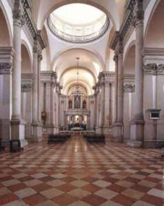 Basilica di S.Giorgio Maggiore, interno.